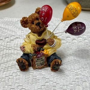 Boyds Bears Way To Go! Collectible Figurine